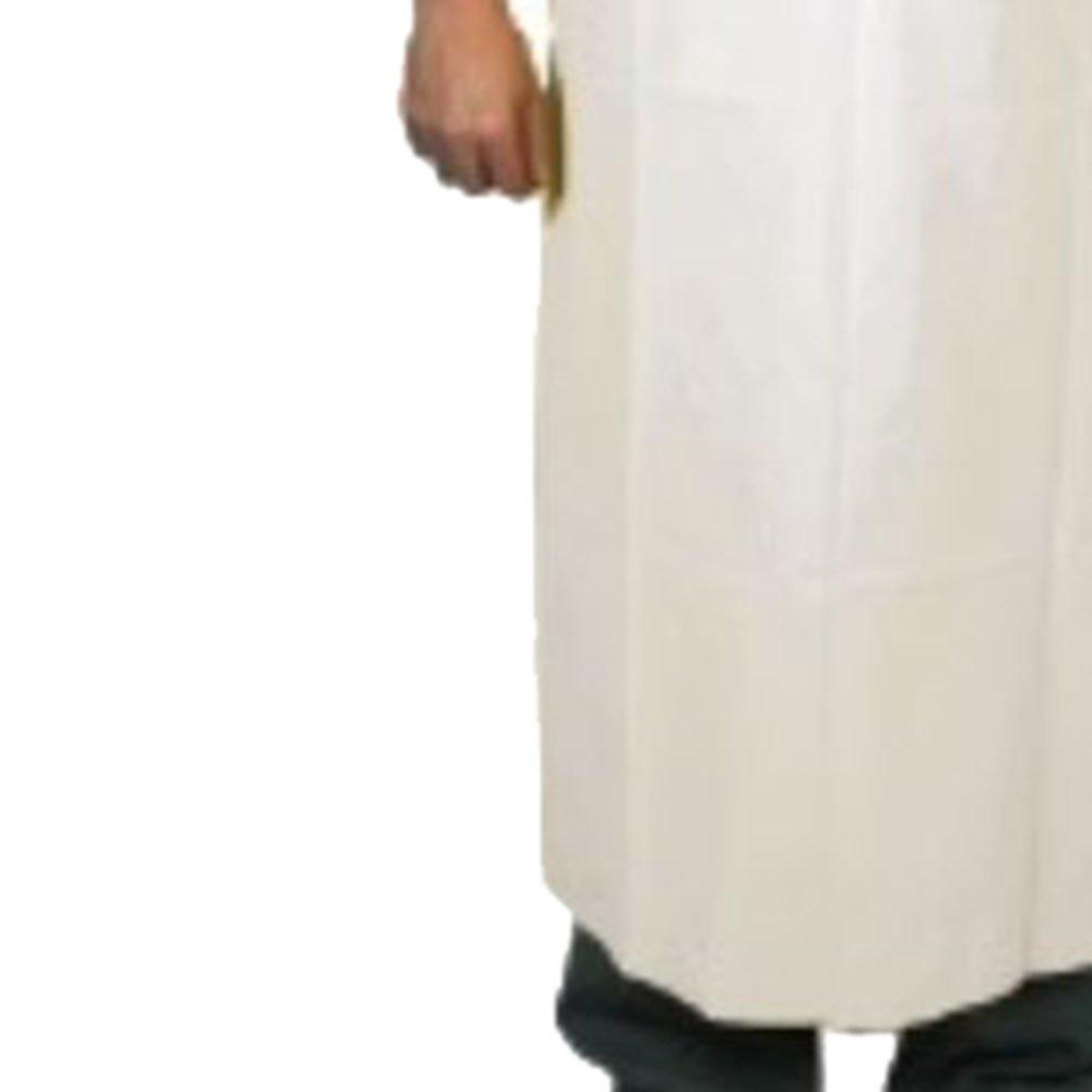 Avental de PVC Forrado 1,20x70m Branco - Imagem zoom