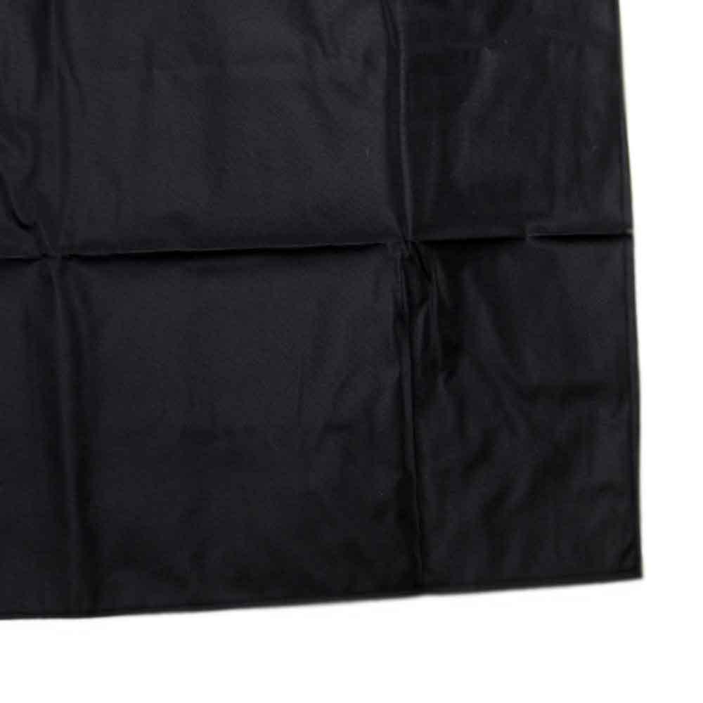 Avental Preto de PVC Forrado 120 x 70cm - Imagem zoom