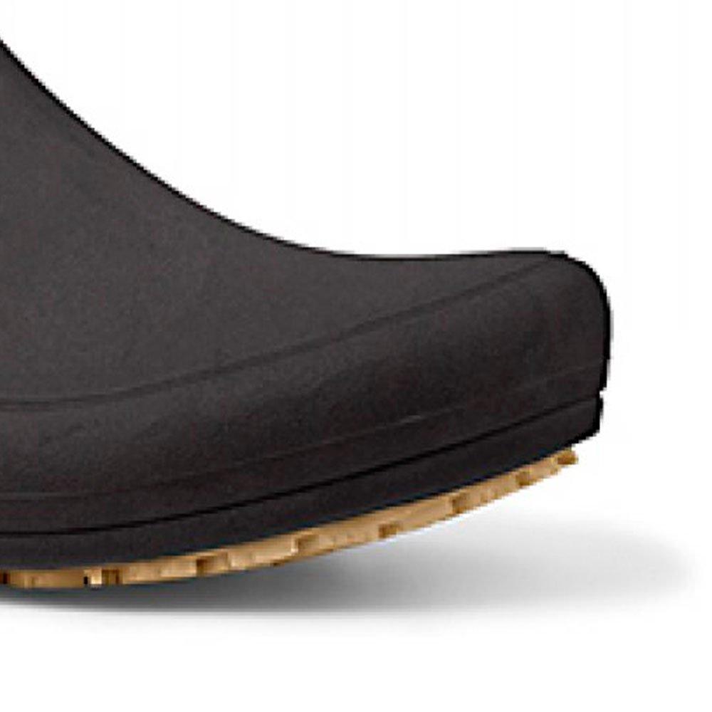 Sapato Flip Impermeável Preto com Solado de Borracha Nº 35 - Imagem zoom