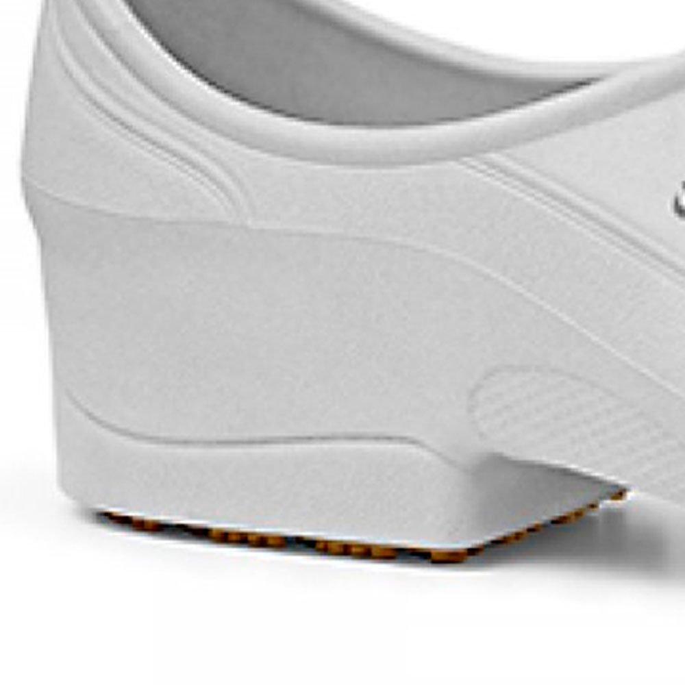 Sapato Flip Impermeável Branco com Solado de Borracha Nº 35 - Imagem zoom