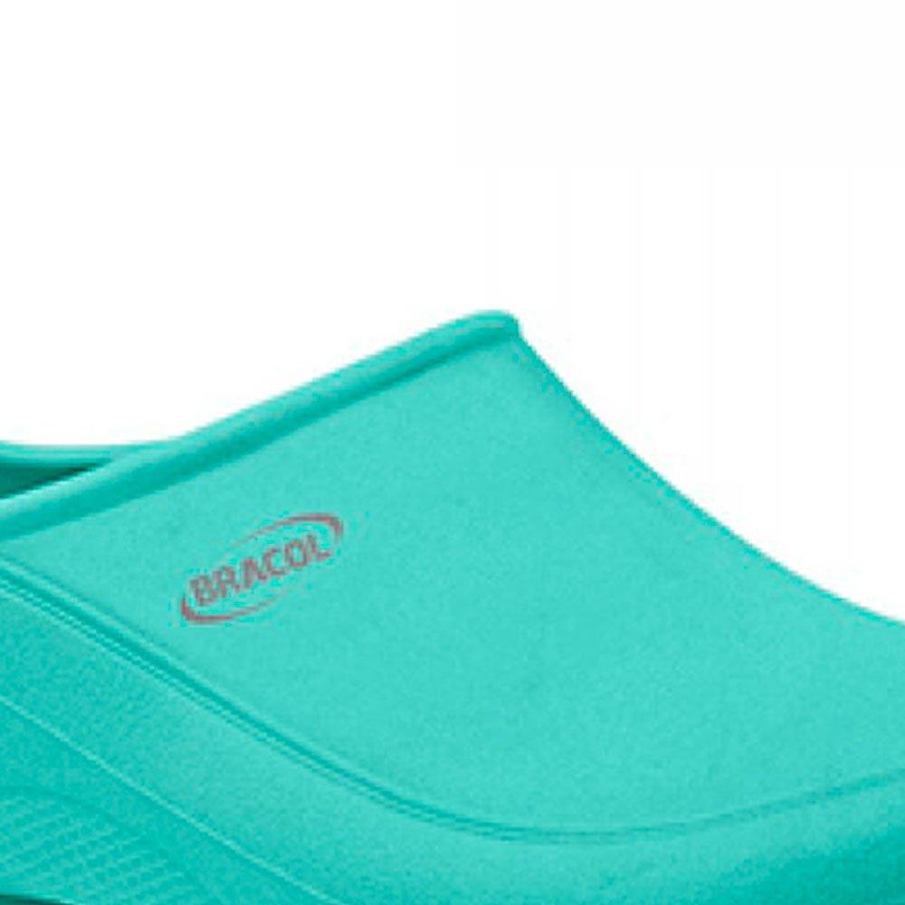 Sapato Flip Impermeável Verde com Solado de Borracha Nº 36 - Imagem zoom