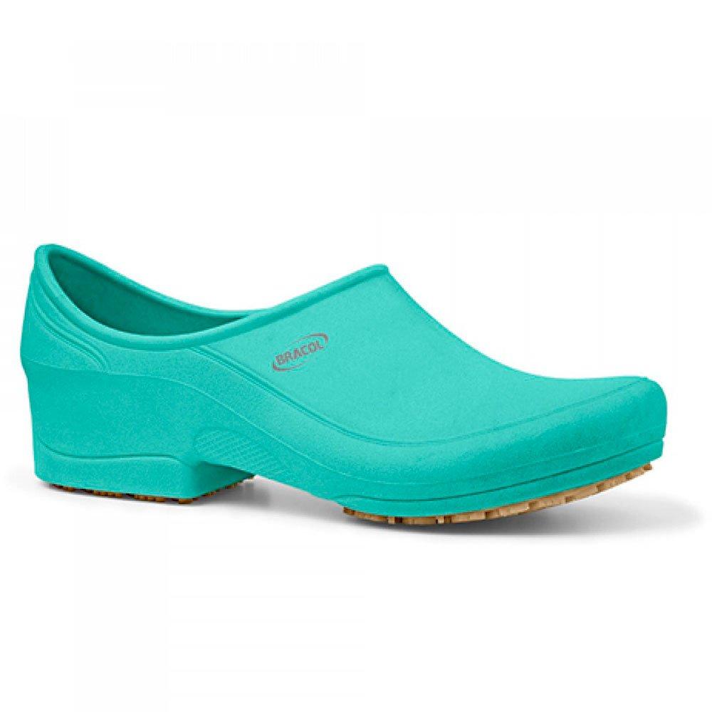 Sapato Flip Impermeável Verde com Solado de Borracha Nº 37 - Imagem zoom