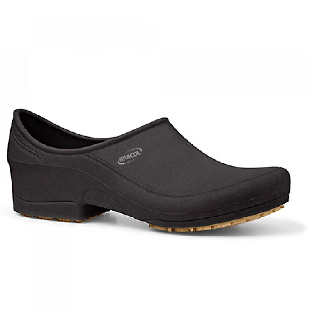 Sapato Flip Impermeável Preto com Solado de Borracha Nº 37 - Imagem zoom