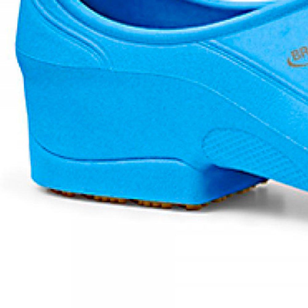 Sapato Flip Impermeável Azul com Solado de Borracha Nº 37 - Imagem zoom