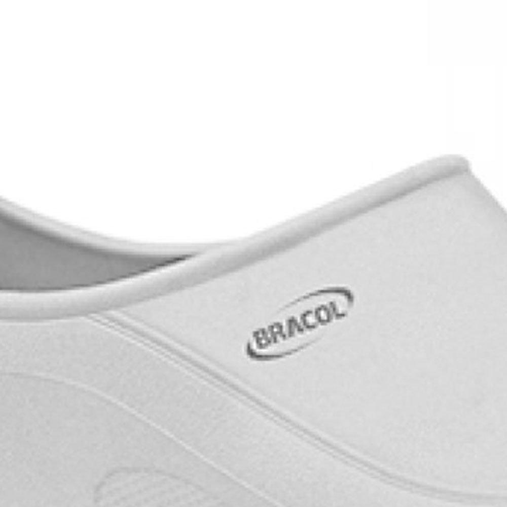 Sapato Flip Impermeável Branco com Solado de Borracha Nº 38 - Imagem zoom