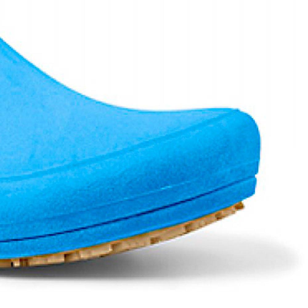 Sapato Flip Impermeável Azul com Solado de Borracha Nº 38 - Imagem zoom