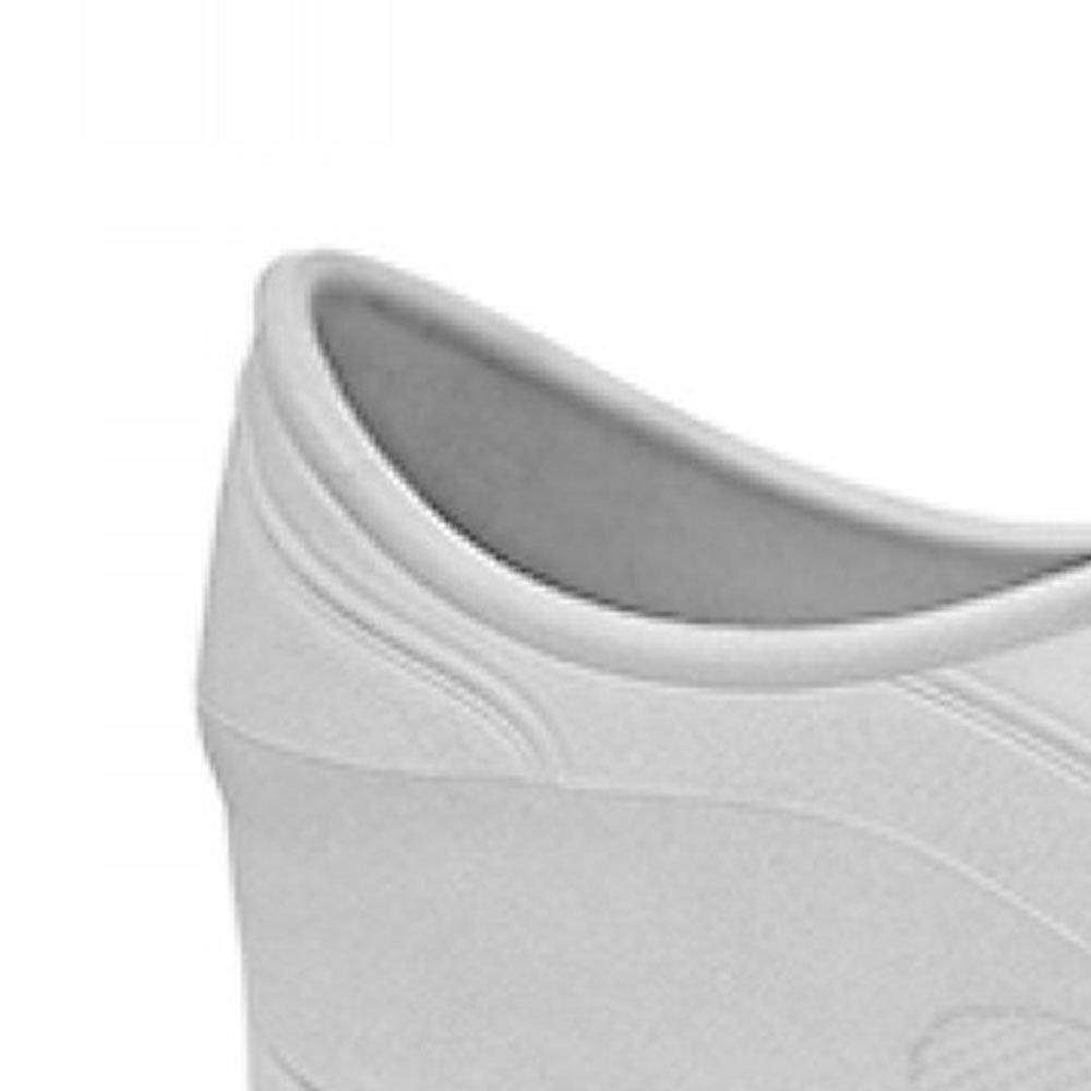 Sapato Flip Impermeável Branco com Solado de Borracha Nº 39 - Imagem zoom