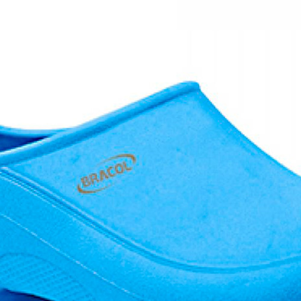 Sapato Flip Impermeável Azul com Solado de Borracha Nº 40 - Imagem zoom