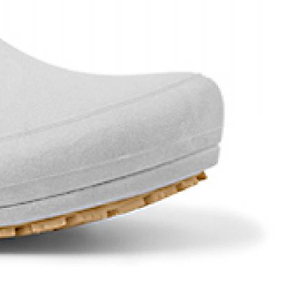Sapato Flip Impermeável Branco com Solado de Borracha Nº 42 - Imagem zoom