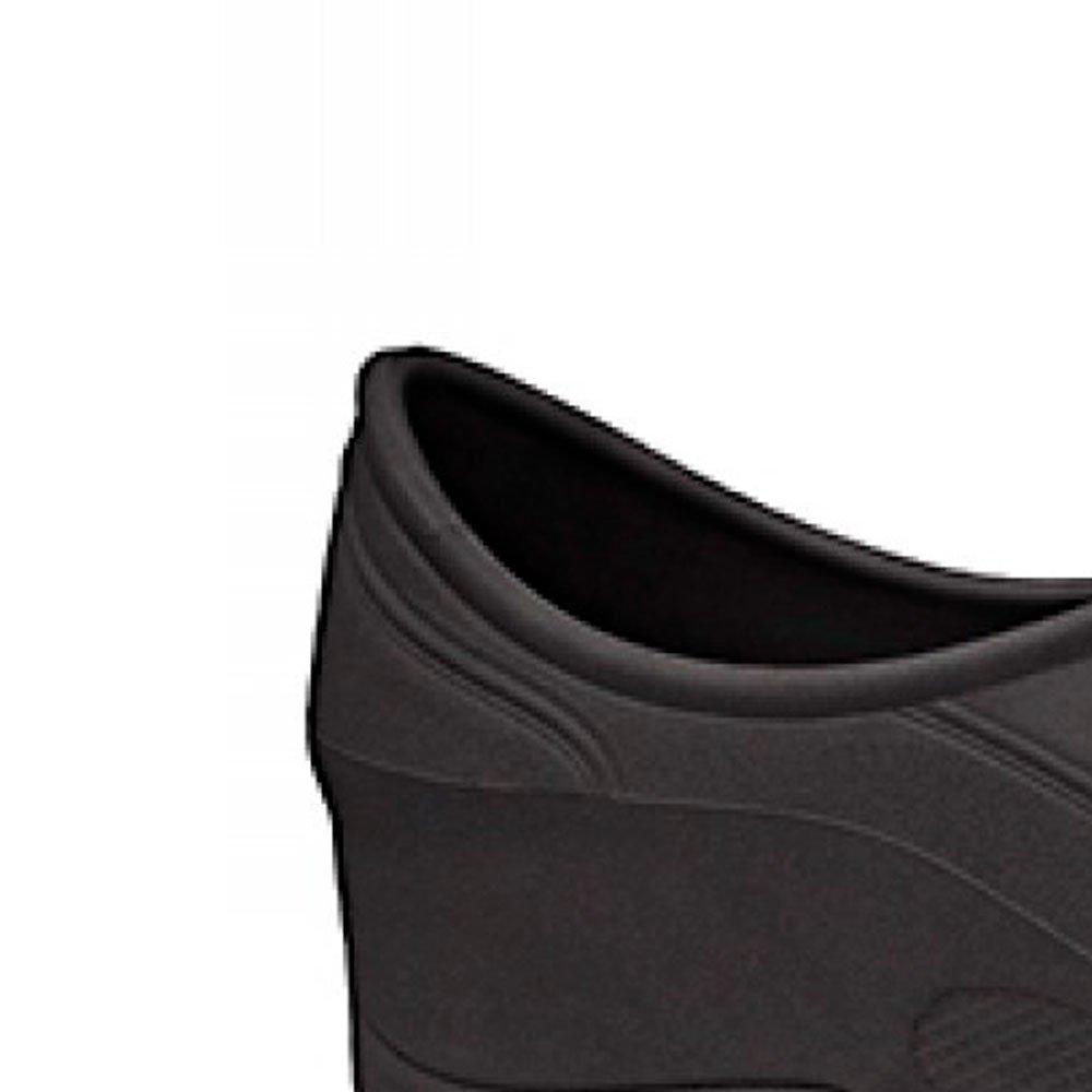 Sapato Flip Impermeável Preto com Solado de Borracha Nº 43 - Imagem zoom