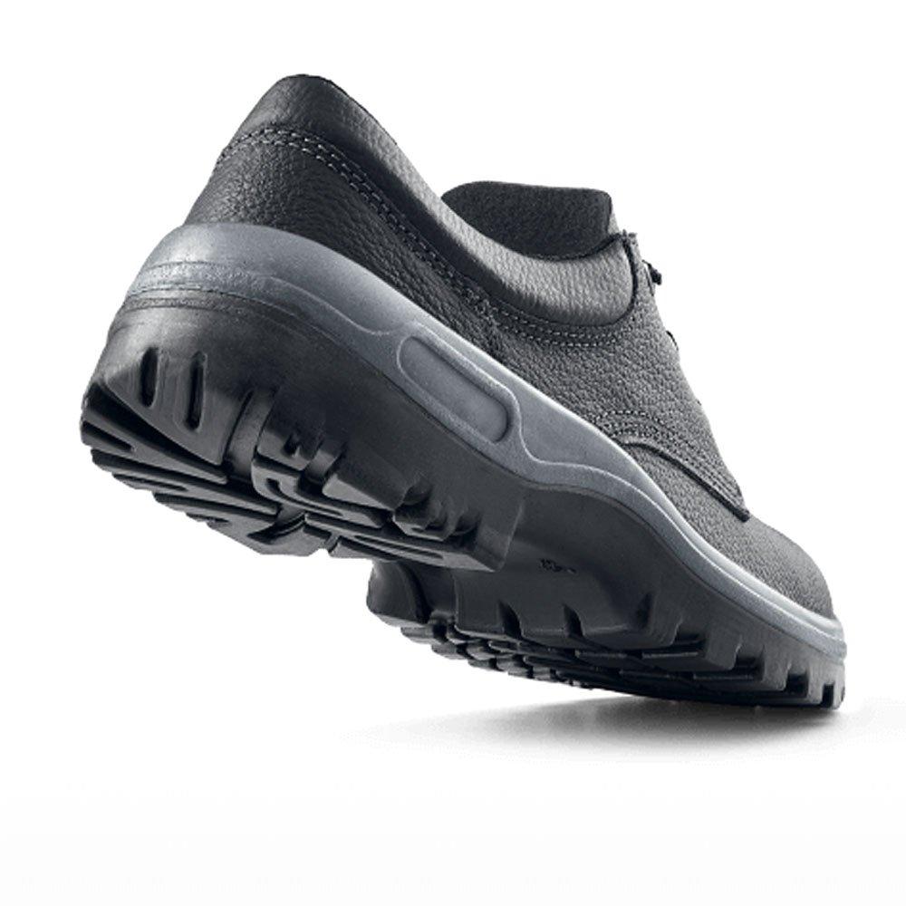Sapato de Segurança com Cadarço e Bico de Aço - Número 35 - Imagem zoom