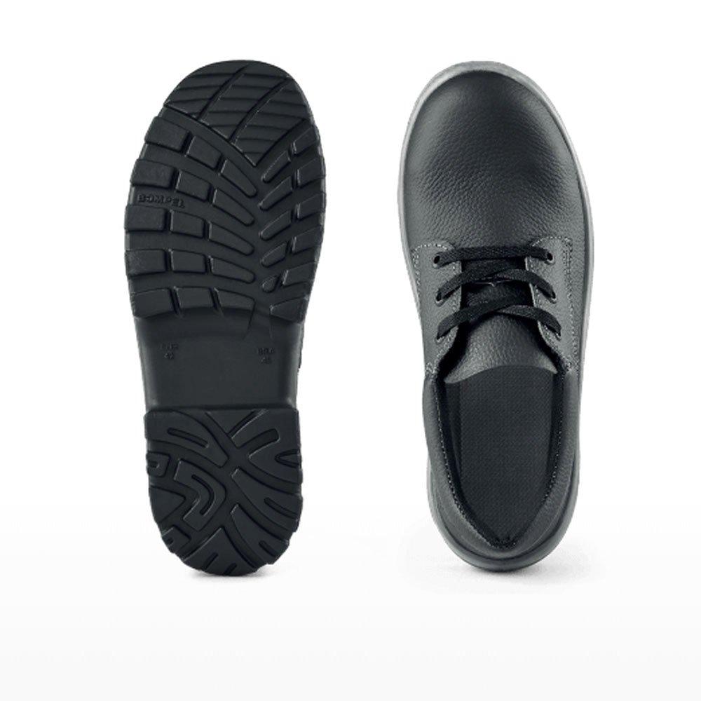 Sapato de Segurança com Cadarço e Bico de Aço - Número 45 - Imagem zoom