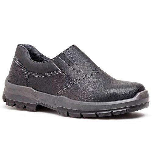 sapato de segurança preto com elástico nº 39