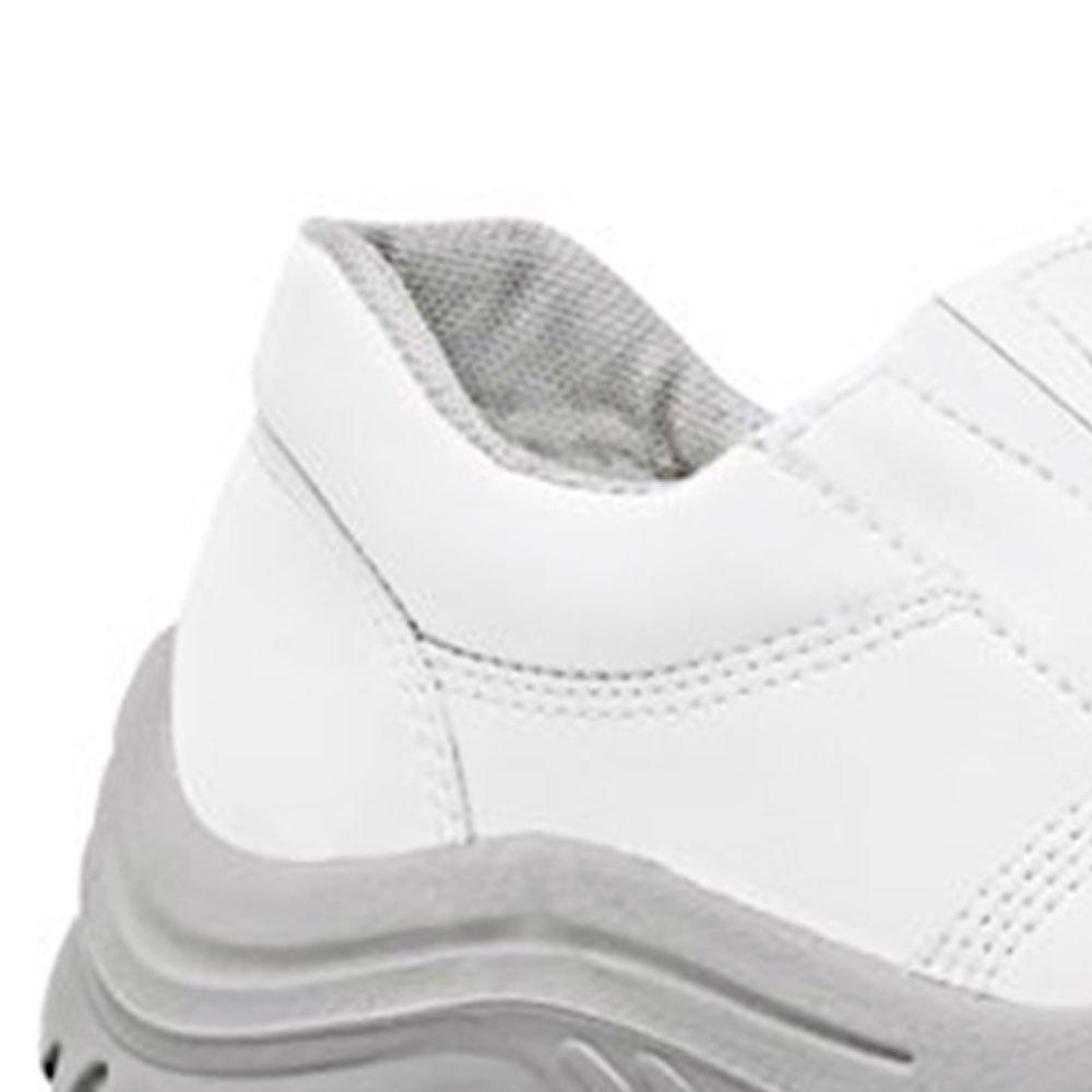 Sapato de Segurança Branco com Elástico Nr. 39 - Imagem zoom