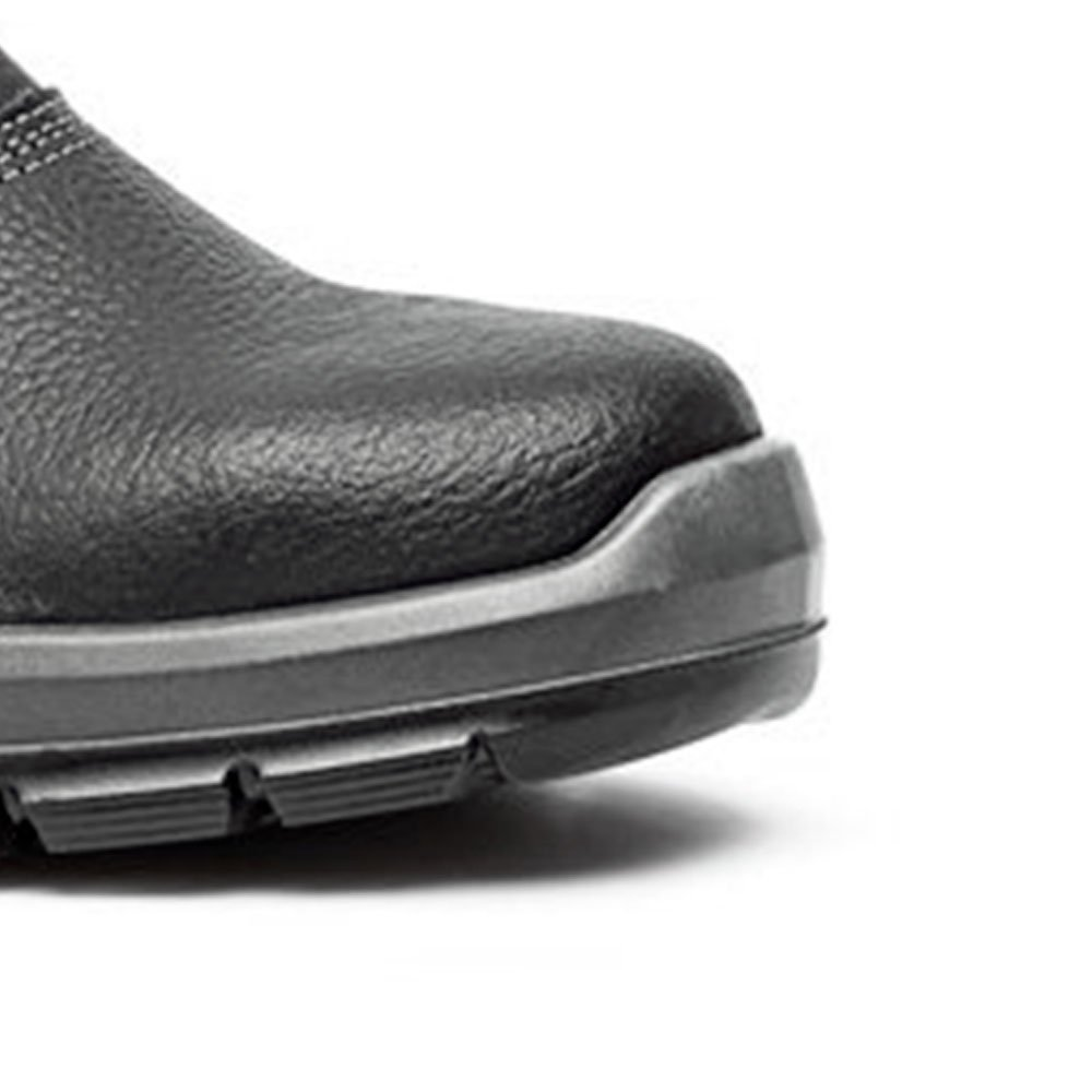 Sapato de Segurança com Elástico e Bico de Aço Nº 40 - Imagem zoom