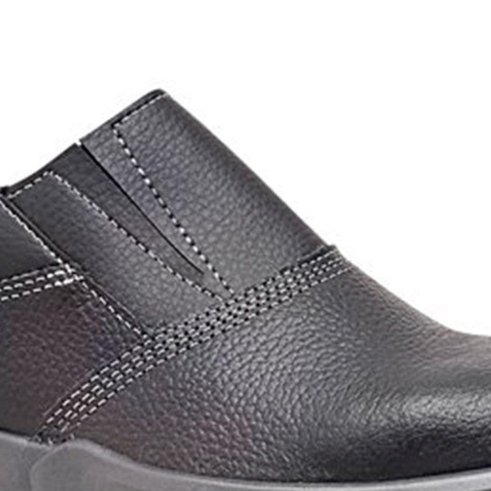 Sapato de Segurança Preto com Elástico Nº 41 - Imagem zoom
