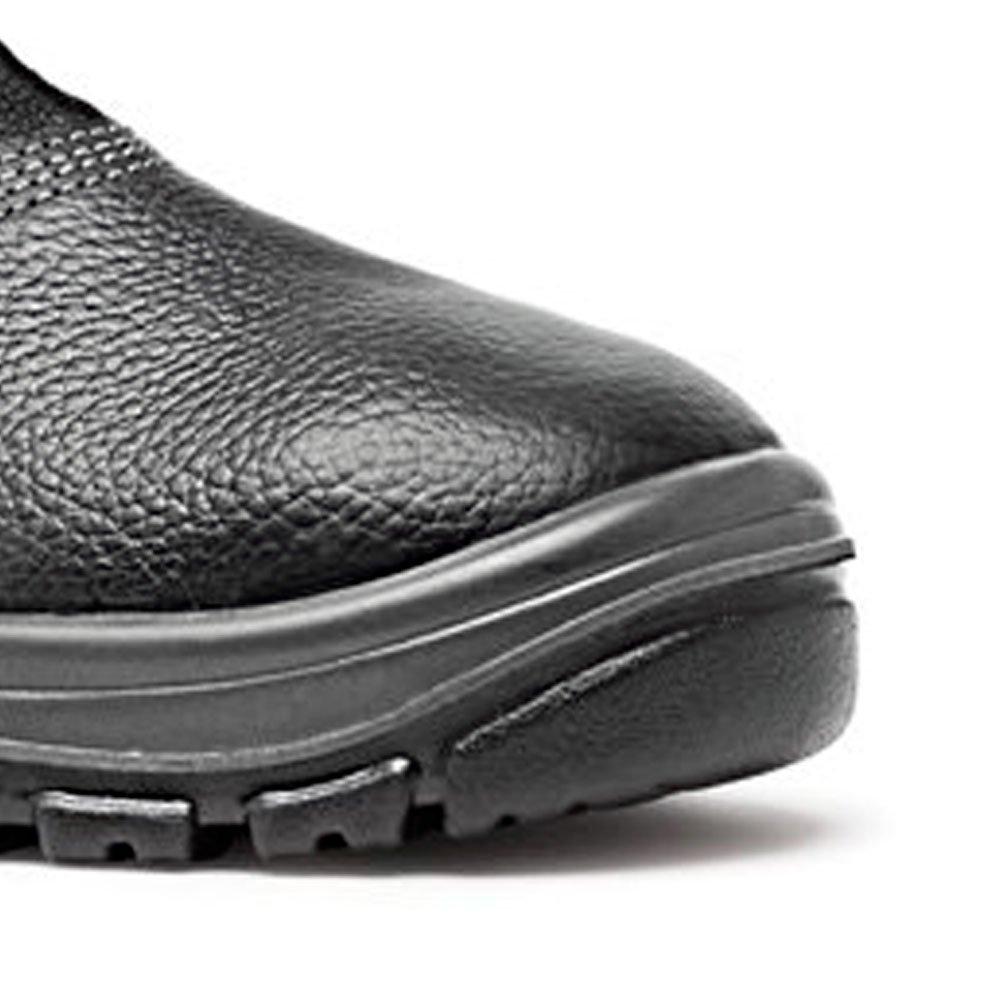 Sapato de Segurança Preto HLS em Microfibra com Elástico Nº 41 - Imagem zoom