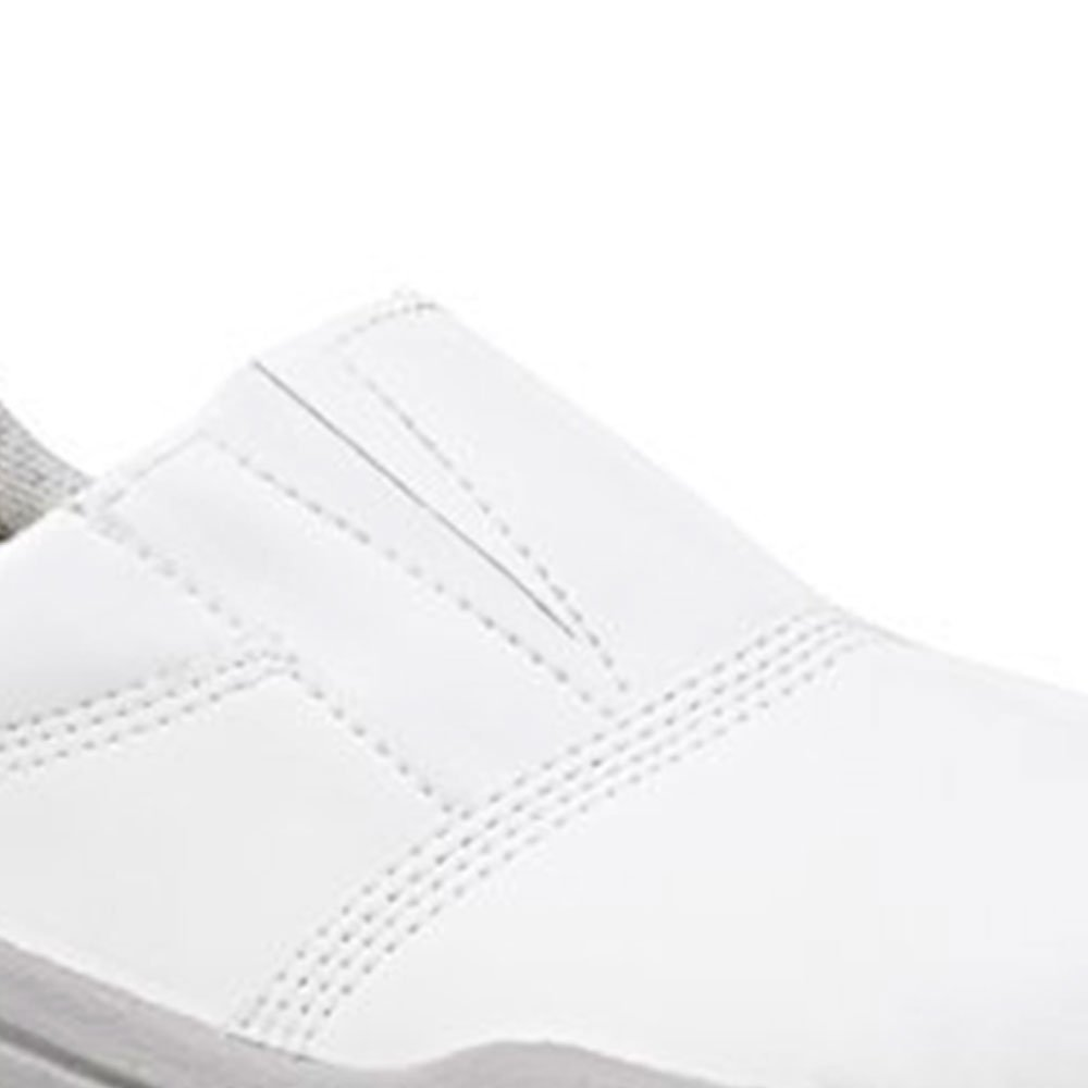 Sapato de Segurança Branco com Elástico Nº 42 - Imagem zoom