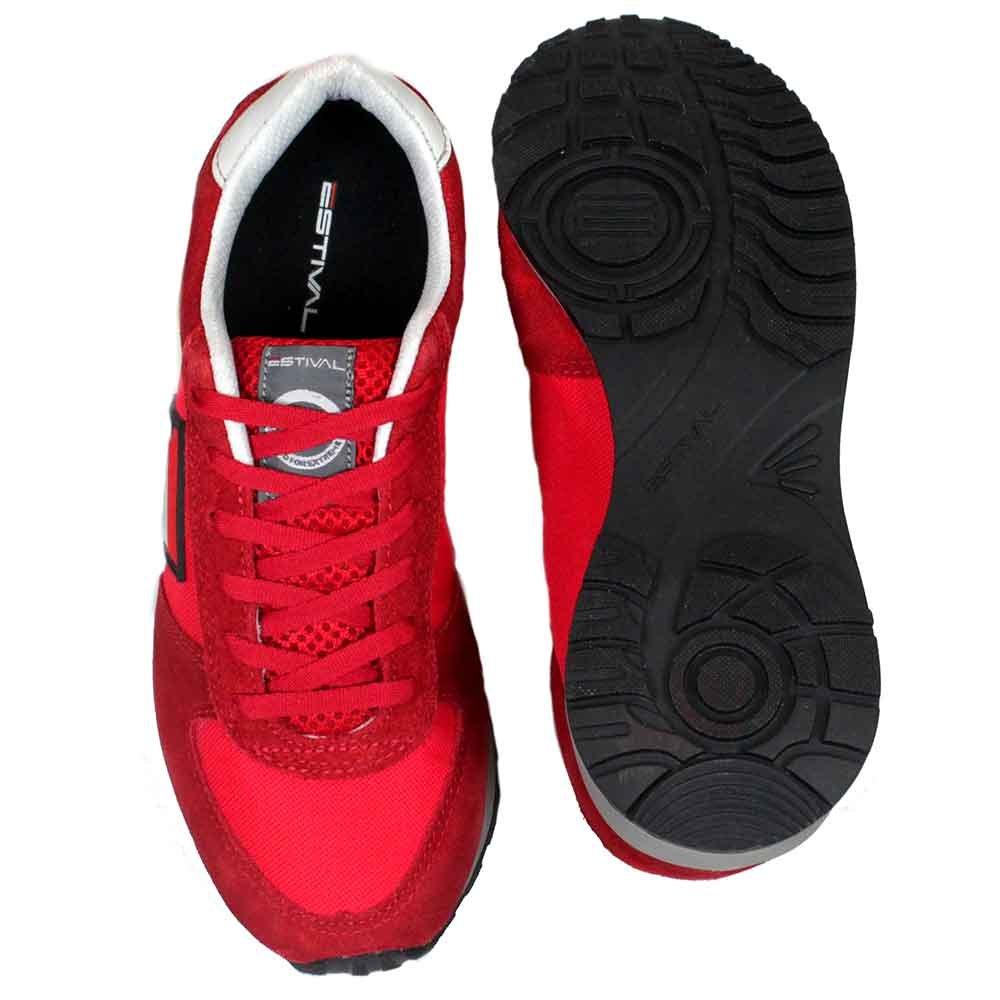 3d1b1fb242 Tênis de Segurança Esportivo Energy Super N° 38 Vermelho - ESTIVAL ...