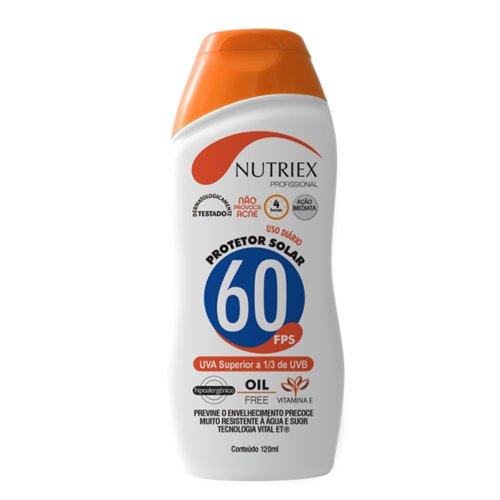 protetor solar profissional fps 60 1/3 uva 120 ml