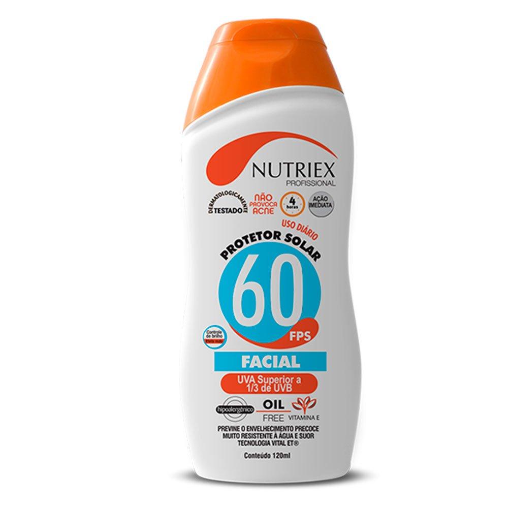 Protetor Solar Facial FPS 60 1/3 UVA 120 ml - Imagem zoom