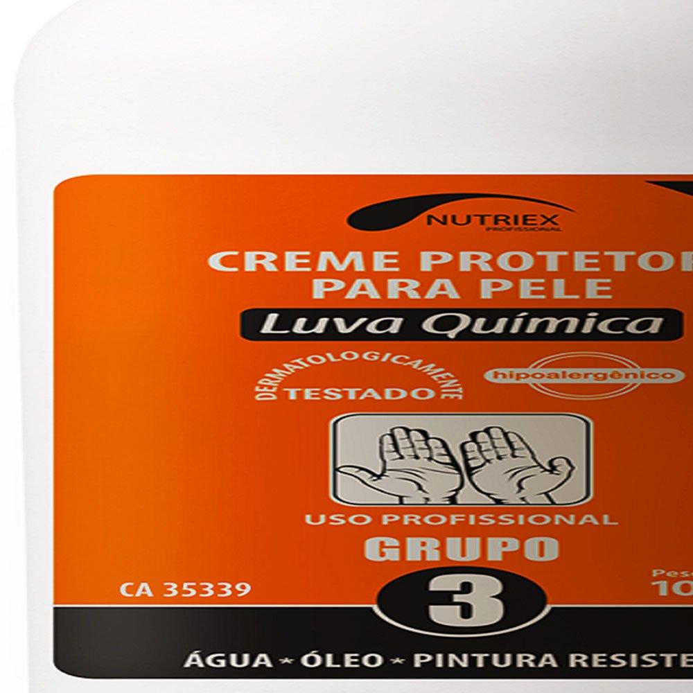 Creme Protetor de Pele Luva Química Grupo 3 1 Litro - Imagem zoom