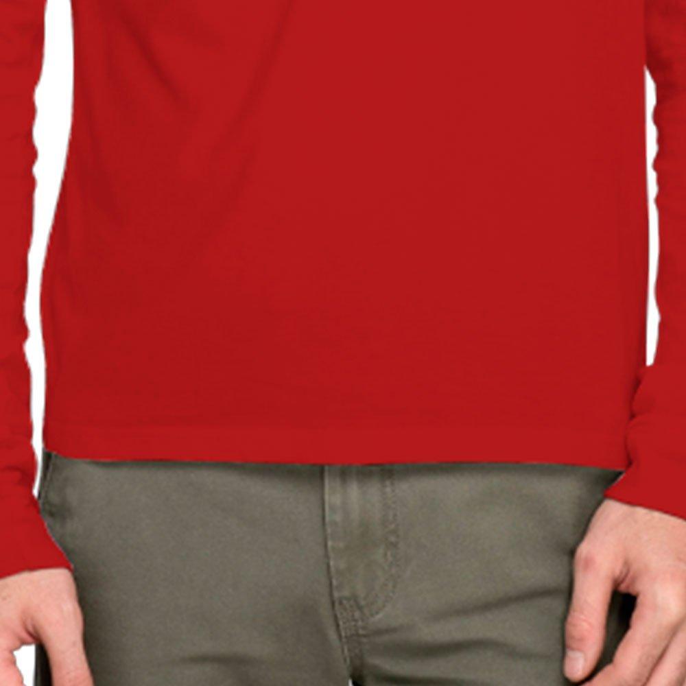 Camisa de Segurança Dry Fit UV 50 Manga Longa Vermelha Tamanho G - Imagem zoom