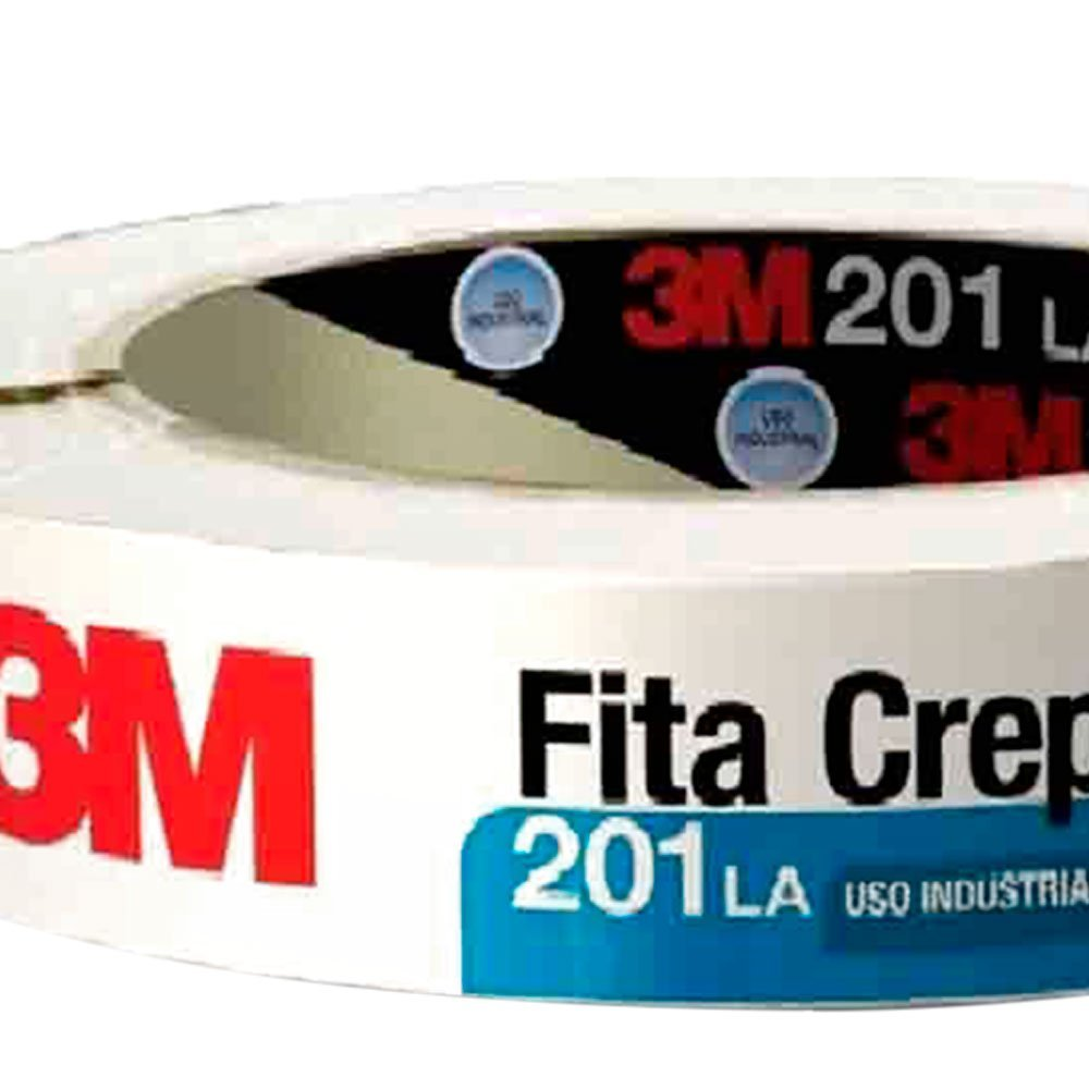 Fita Crepe 201LA Industrial 24 mm x 50 m - Imagem zoom