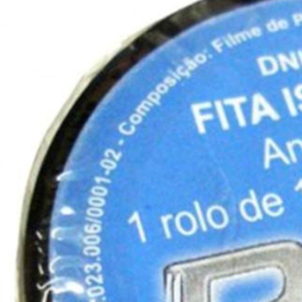 Fita Isolante PVC Preta 19mm x 5 Metros - Imagem zoom