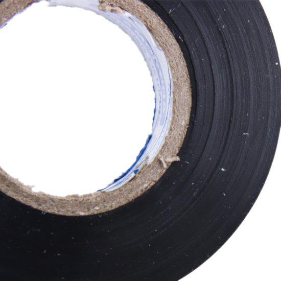 Fita Isolante Preta 20 Metros - 19 mm x 0,13 mm - Imagem zoom