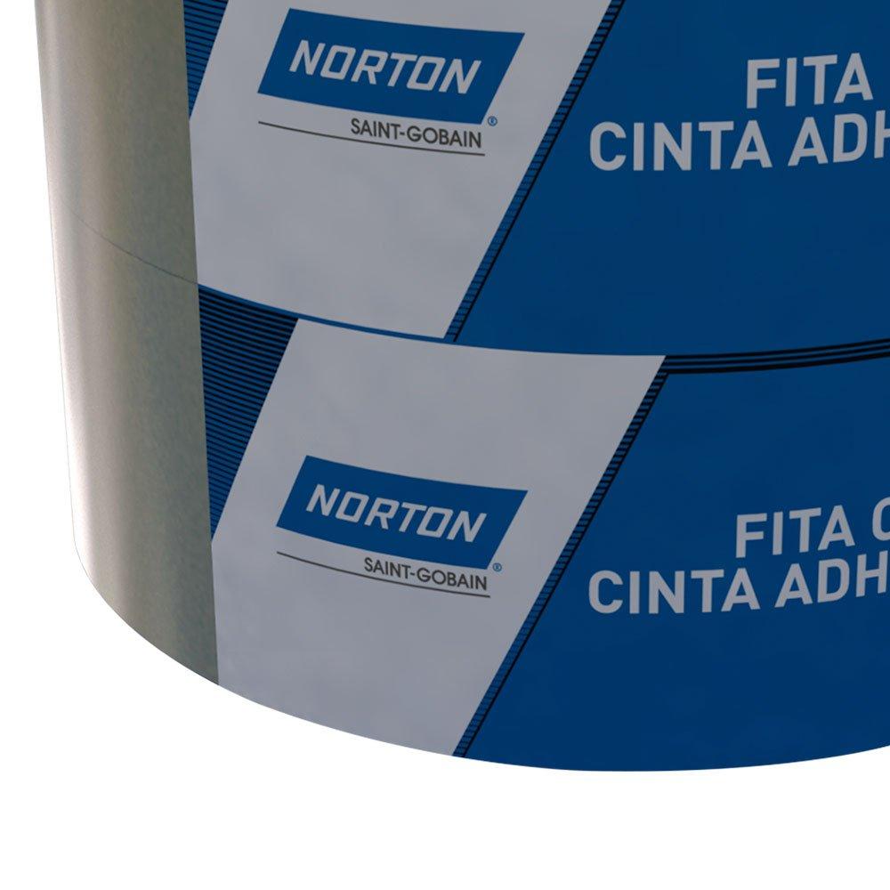 Fita Crepe de Uso Geral  Sanfona 48mm x 50m com 2 Unidades  - Imagem zoom