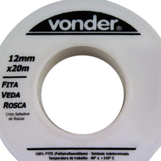 Fita Veda Rosca 12 mm x 20 m - Imagem zoom