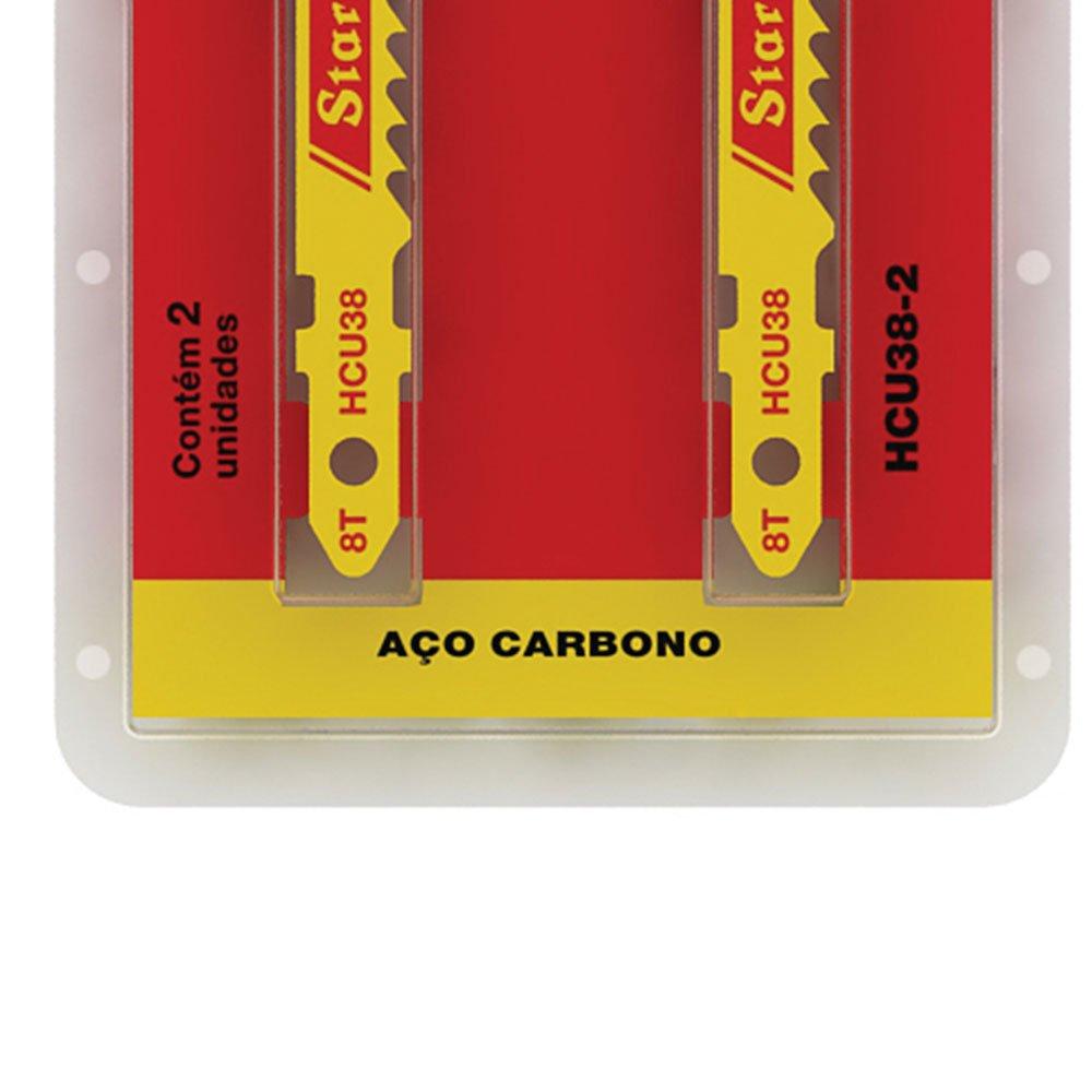 Lâmina de Serra Tico-Tico 75mm 8 Dentes Frestrav com 2 Peças - Imagem zoom