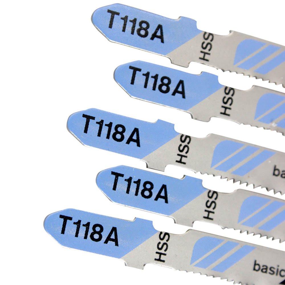 Lâminas de Serra Tico Tico HSS para Metal com 5 Peças - T 118 A - Imagem zoom