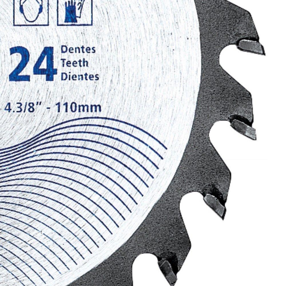Disco de Serra Circular 40 D de 4.3/8 Pol. para Madeira - Imagem zoom