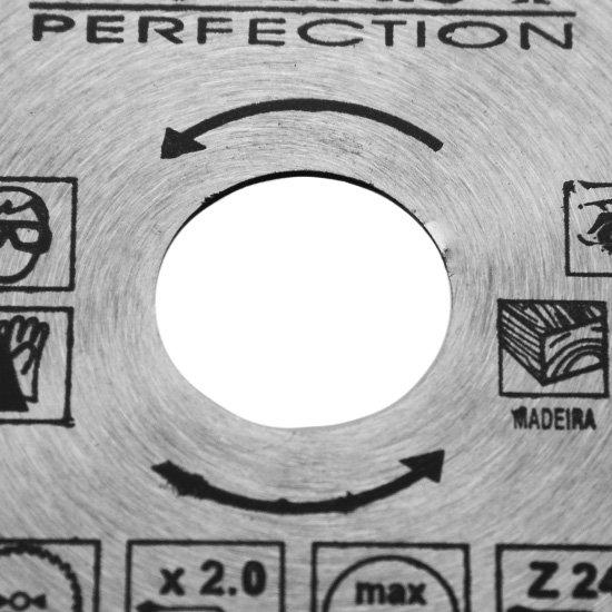 Disco de Serra Circular para Madeira 4.3/8 (110 mm) - Imagem zoom