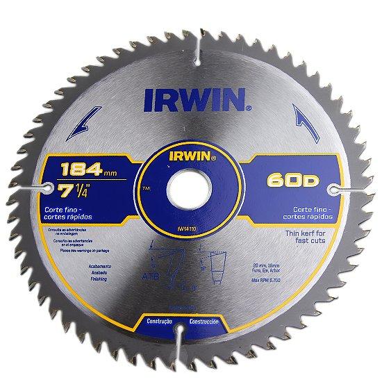 Disco de Serra Circular para Máquinas Portáteis de 7.1/4 Pol com 60 Dentes - Imagem zoom