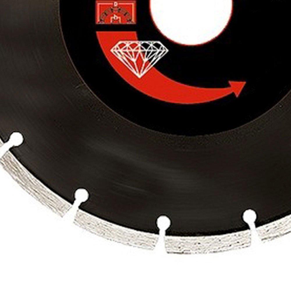 Disco de Corte Diamantado Segmentado 115 x 2 x 22,2mm Corte a Seco  - Imagem zoom
