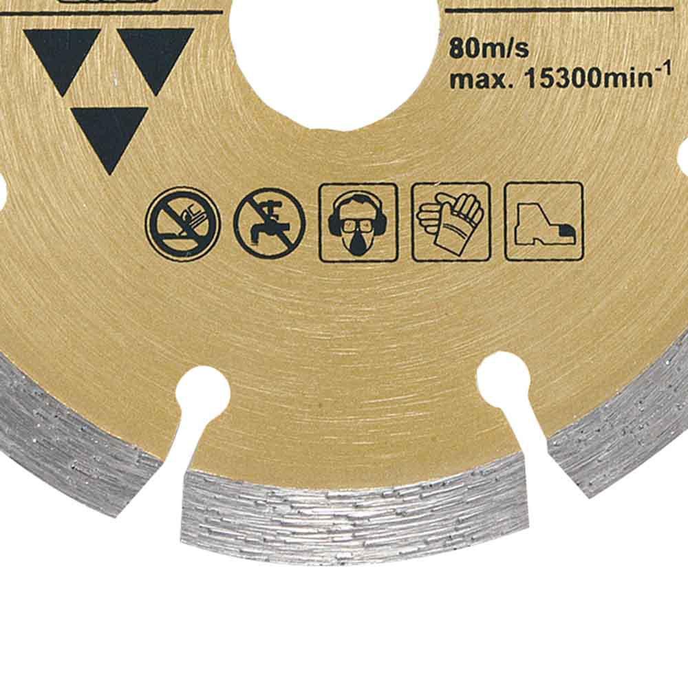 Disco Diamantado Segmentado 105 mm - Imagem zoom