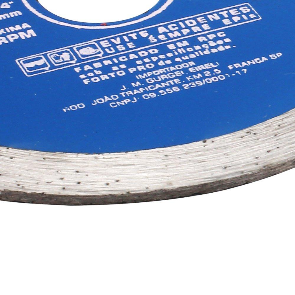 Disco de Corte Diamantado Contínuo Liso de 4-3/8 Pol. - Imagem zoom