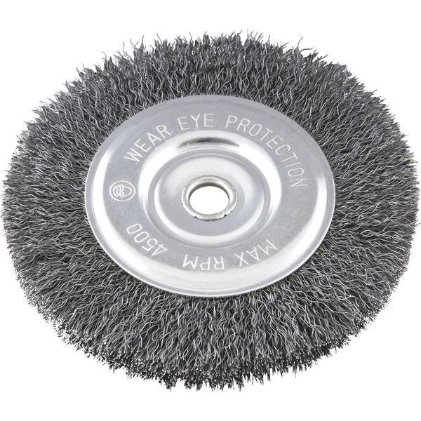 Escova circular 6 Pol. x 1/2 Pol. x 1/2 Pol. (152 mm x 12,7 mm x 12,7 mm) VONDER - Imagem zoom