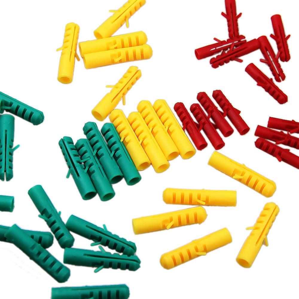 Jogo de Buchas e Parafusos com Maleta Plástica com 385 Peças - Imagem zoom