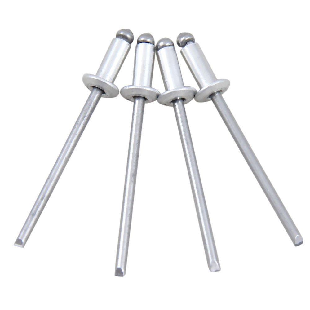 Kit de Rebites em Alumínio 3,2 x 8 mm com 20 Unidades - Imagem zoom