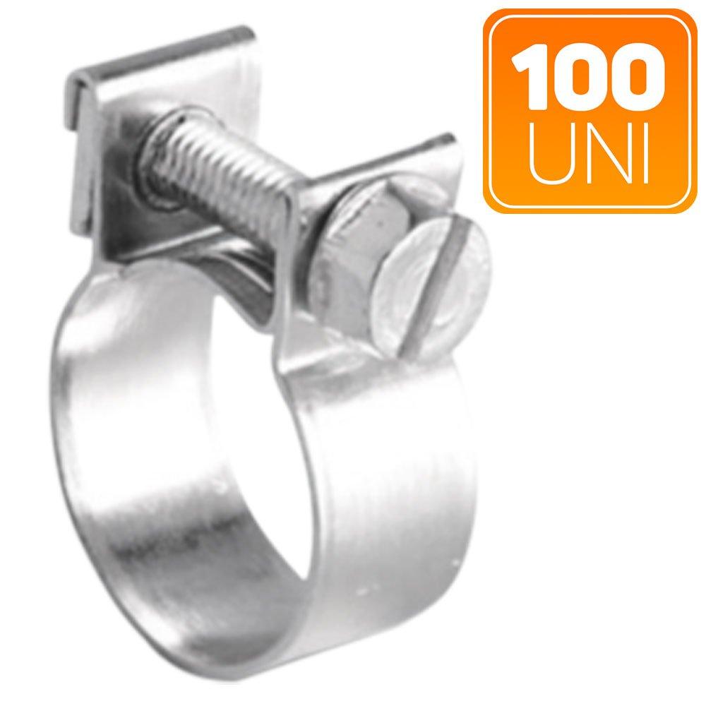Abraçadeira em Aço Carbono Simplex 10/ 12mm com 100 Unidades - Imagem zoom