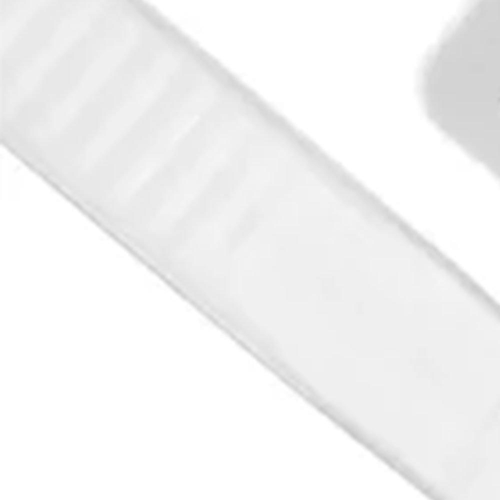Abraçadeira de Nylon Branca 100 x 2,5 mm 100 Unidades - Imagem zoom