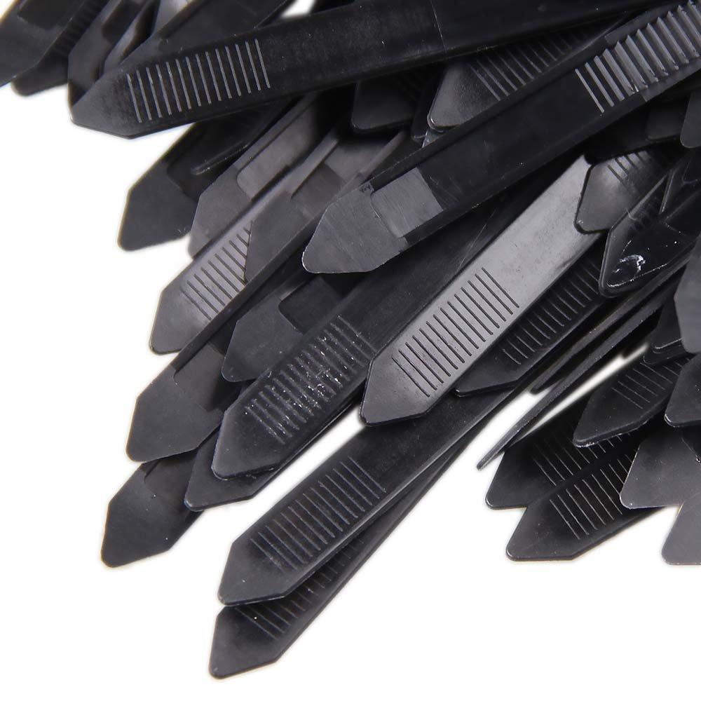 Abraçadeira de Nylon Preta 7,6 x 300 mm com 100 Unidades - Imagem zoom