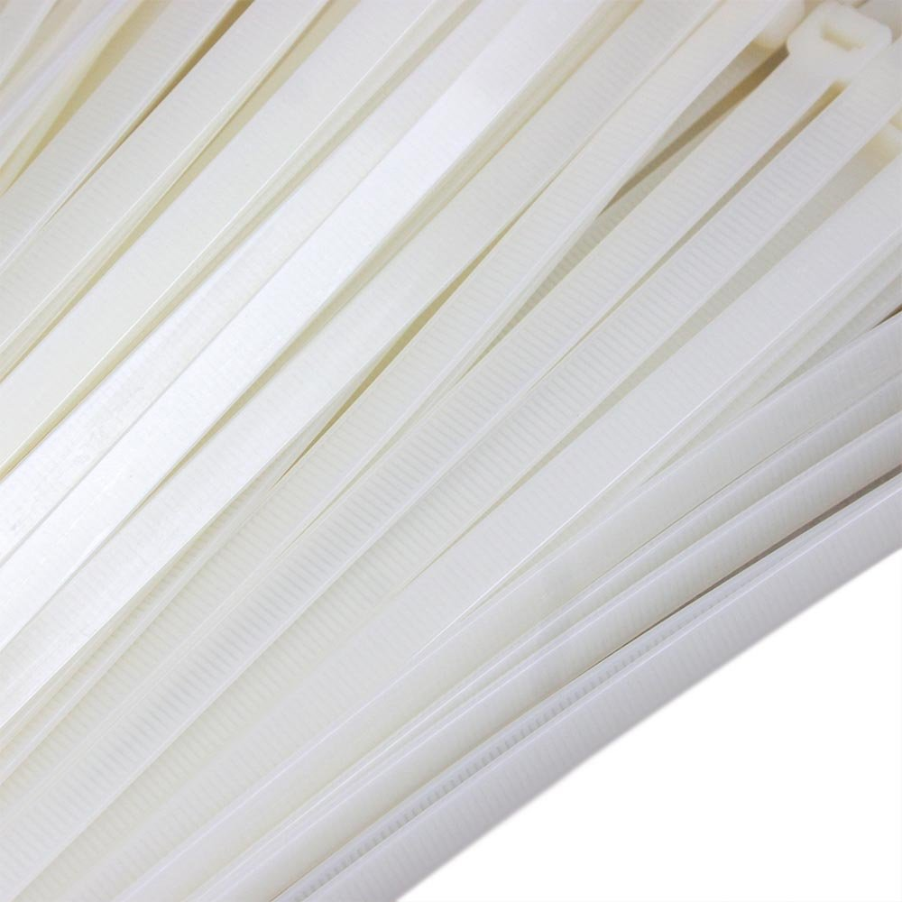Abraçadeira em Nylon Branca 7,6 x 500 mm com 100 Unidades - Imagem zoom