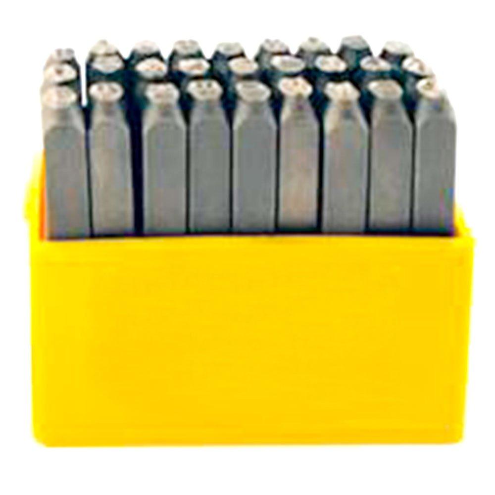 Jogo de Punção tipo Alfabeto 1,5mm com 27 Peças  - Imagem zoom