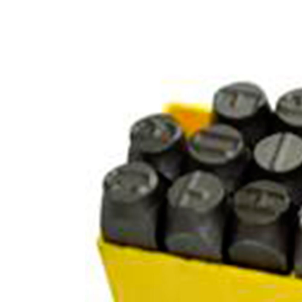 Jogo de Punção tipo Alfabeto 2,5mm com 27 Peças  - Imagem zoom