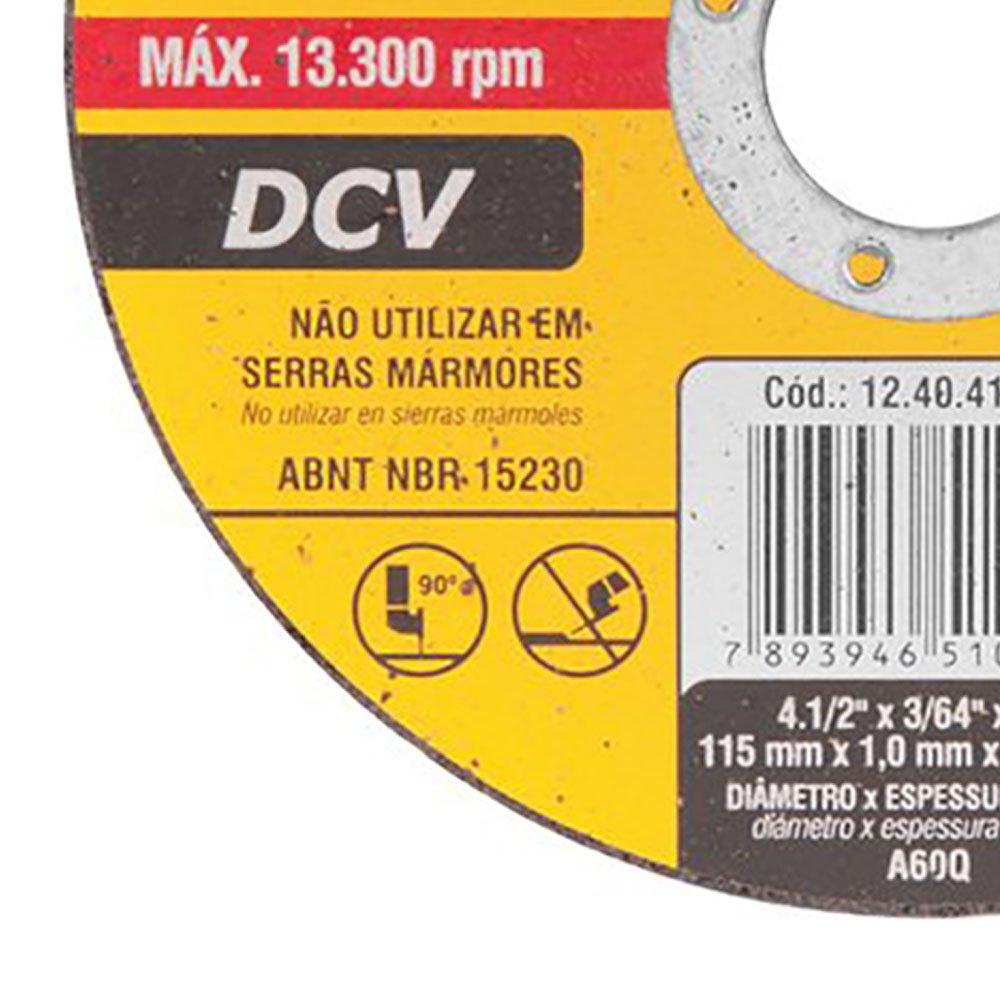 Disco de Corte Fino G 46 4.1/2 Pol. - Imagem zoom